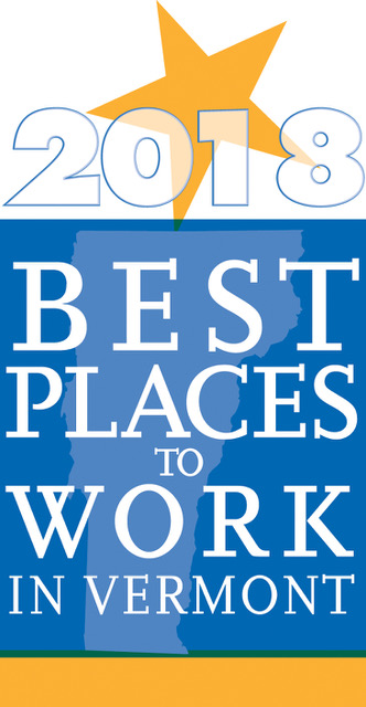 Union Mutual 2018 Vermont Best Places to Work.
